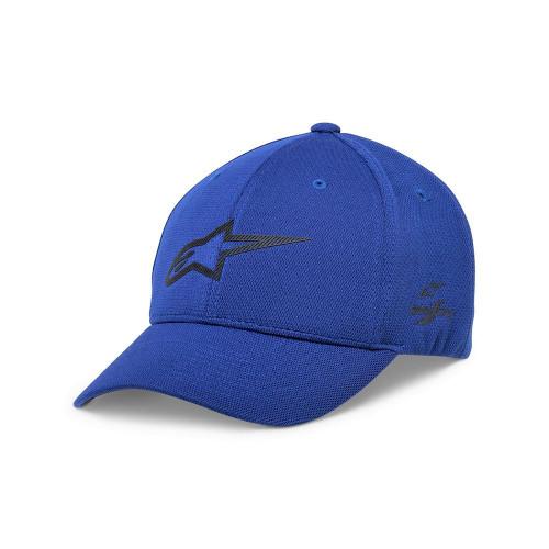 Alpinestars Men's Adjustable Cap ~ Ageless Velo Tech royal blue