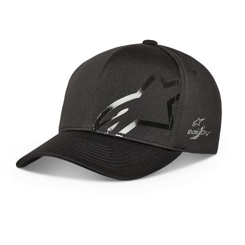 Alpinestars Men's Adjustable Flexfit Cap ~ Imperceptible Tech black