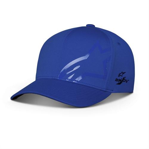 Alpinestars Men's Adjustable Flexfit Cap ~ Imperceptible Tech navy