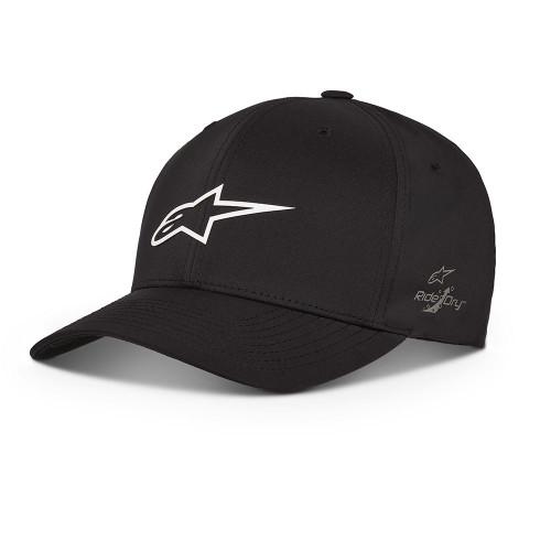 Alpinestars Men's Flexfit Cap ~ Neo Ageless WP Tech black