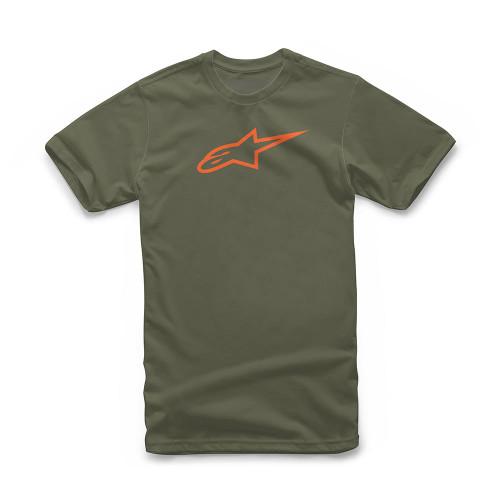 Alpinestars Men's T-Shirt ~ Ageless military orange