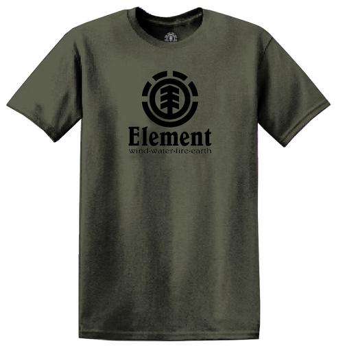Element Men's T-Shirt ~ Vertical army
