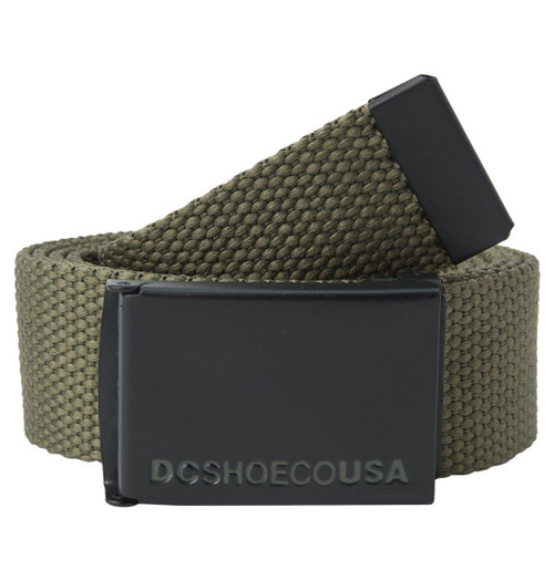 DC Shoes Woven  Web Belt With Bottle Opener ~ Web 2 military