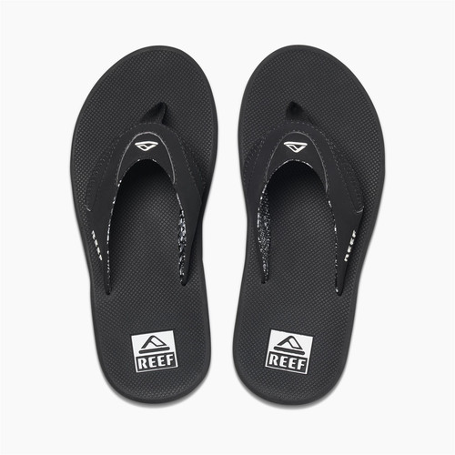 Reef Womens Sandals With Bottle Opener ~ Fanning black