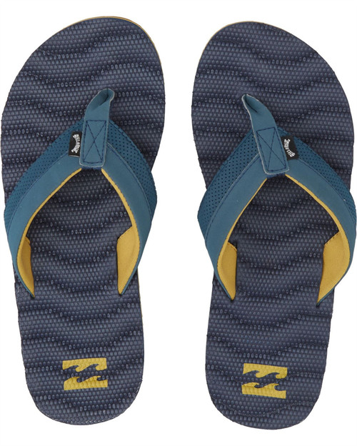 Billabong Water Resistant Mens Sandals ~ Dunes Impact navy