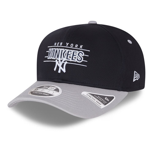 New Era Team Wordmark 9Fifty Snapback Stretch Cap ~ New York Yankees