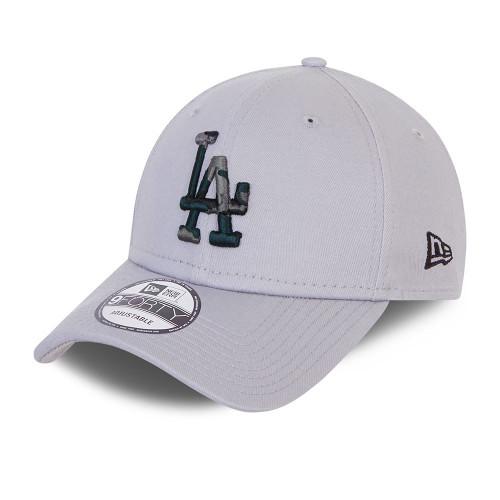New Era Infill 9Forty Cap ~ LA Dodgers grey