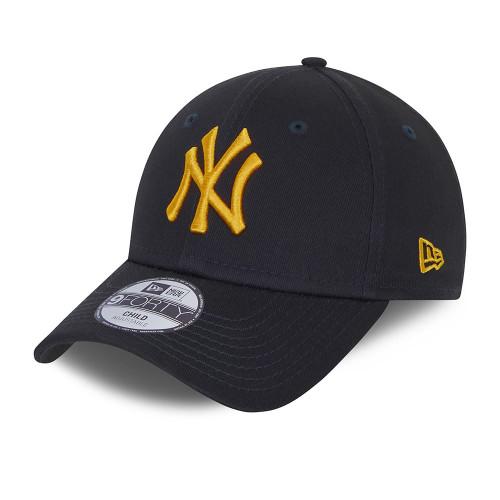 New Era Kids League Essential 9Forty Cap ~ New York Yankees black