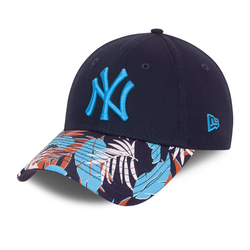 New Era Kids Floral 9Forty Snapback Cap ~ New York Yankees blue
