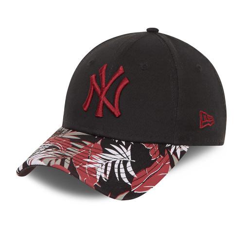 New Era Kids Floral 9Forty Snapback Cap ~ New York Yankees black