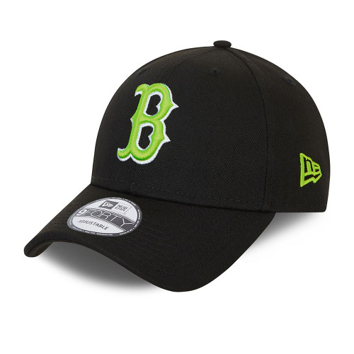 New Era Neon Pack 9Forty Cap ~ Boston Red Sox black