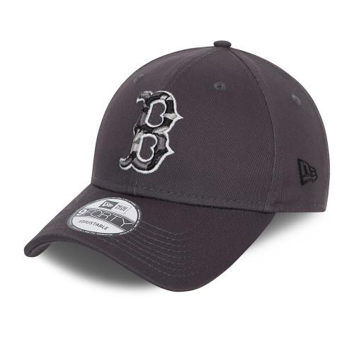 New Era Infill 9Forty Cap ~ Boston Red Sox grey