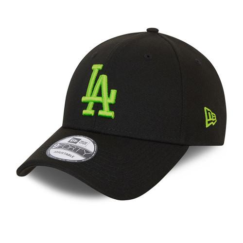 New Era Neon Pack 9Forty Cap ~ LA Dodgers black