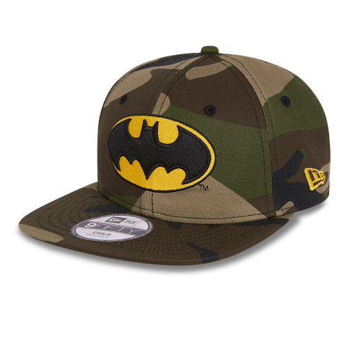 New Era 9Fifty Kids Cap ~ Batman camo