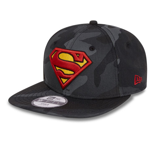 New Era 9Fifty Kids Cap ~ Superman camo