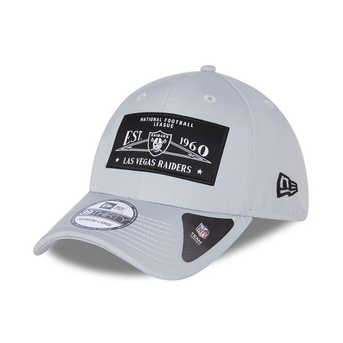 New Era Team Patch 39Thirty Cap ~ LA Raiders