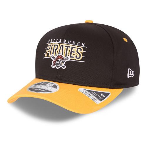 New Era Team Wordmark 9Fifty Snapback Stretch Cap ~ Pittsburgh Pirates