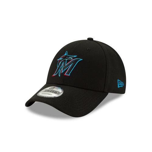 New Era 9Forty Adjustable Curve Cap ~ Miami Marlins