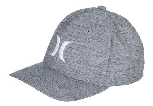 Hurley Men's Flexfit Dri-Fit Cap ~ Marwick Icon greY