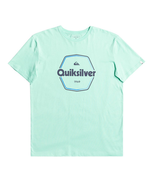 Quiksilver Men's T-Shirt ~ Hardwired green
