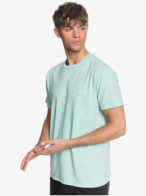 Quiksilver Men's T-Shirt ~ Acid Sun green