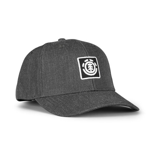 Element Men's Snapback Cap ~ Treelogo charcoal heather