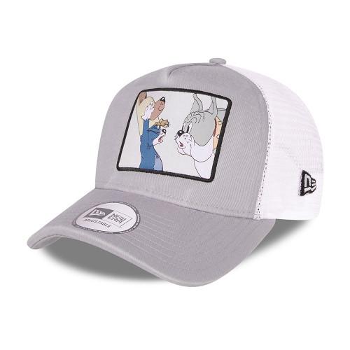 New Era Snapback Trucker  Cap ~ 'Tom and Jerry' grey