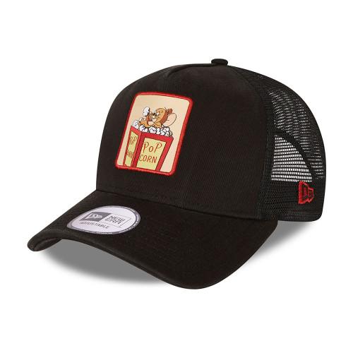 New Era Snapback Trucker  Cap ~ 'Tom and Jerry' black
