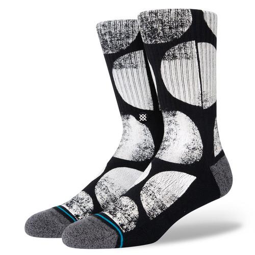 Stance Men's Socks Size L ~ Stamp Dot black