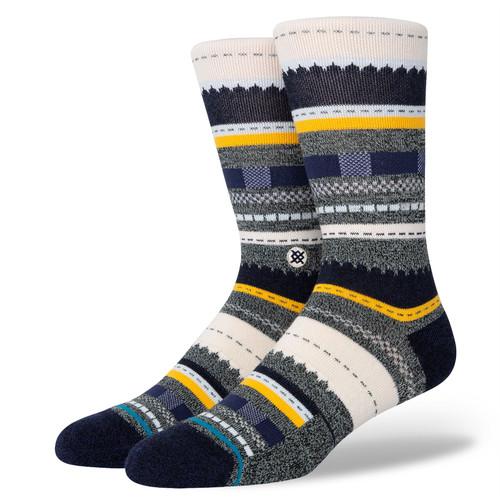 Stance Men's Socks Size L ~ Tucker Crew blue