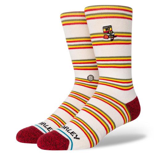 Stance Men's Socks Size L ~ BM 75 Tour canvas