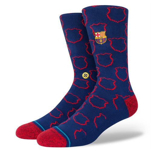Stance Men's Socks Size L ~ FCB Crest navy