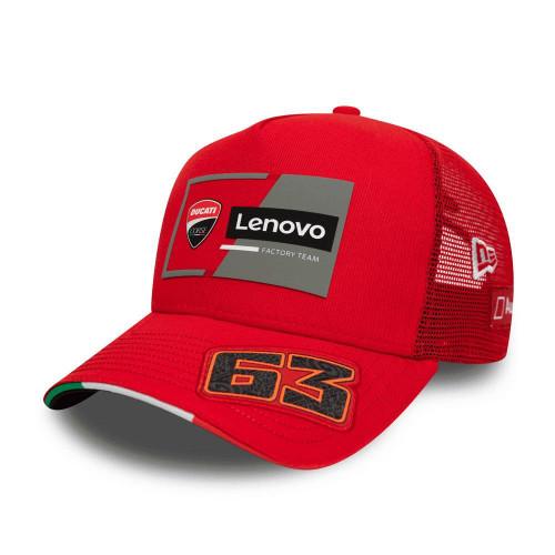 New Era Pecco 9Forty Trucker Cap ~ Ducati red