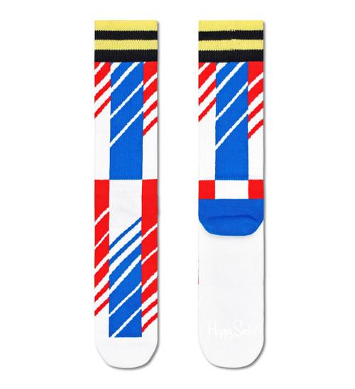 Happy Socks - Crew Socks (Size 41-46) ~ Scattered Stripe