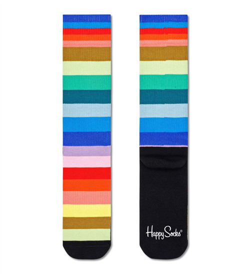 Happy Socks - Crew Socks (Size 41-46) ~ Stripe