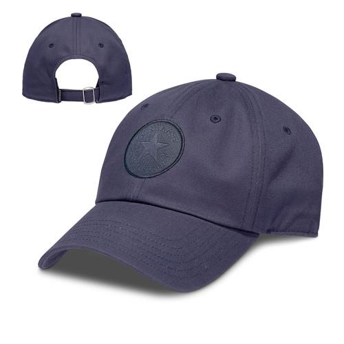 Converse Men's Medium Curve Cap ~ Tonal Chuck Patch navy