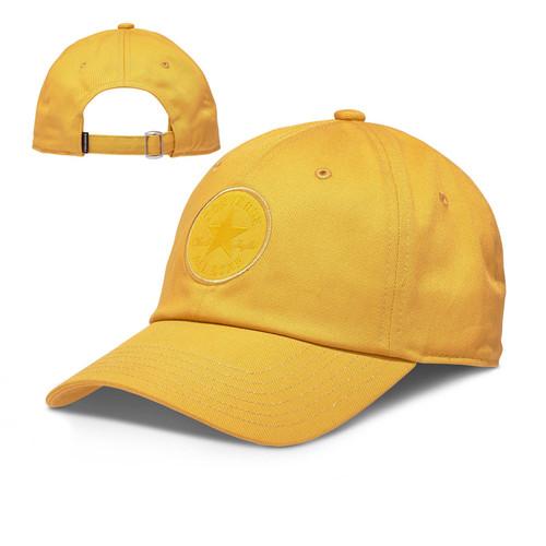 Converse Men's Medium Curve Cap ~ Tonal Chuck Patch gold
