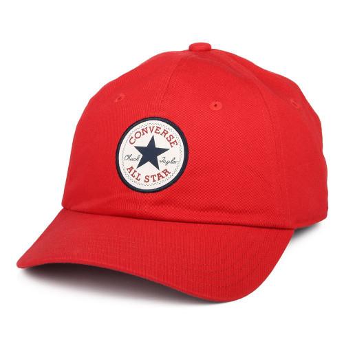 Converse Men's Tip Off Chuck Baseball Cap ~ Chuck red