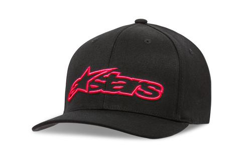 Alpinestars Men's Flexfit Cap ~ Blaze black red