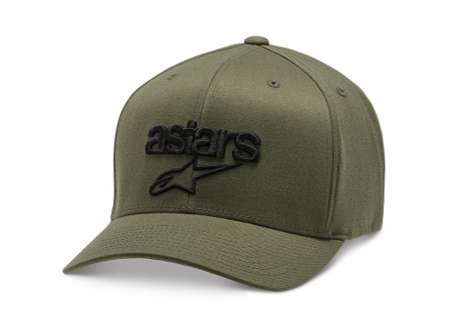 Alpinestars Men's Flexfit Cap ~ Heritage Blaze military black