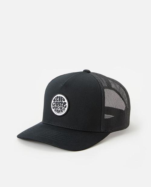 Rip Curl Men's Snapback Trucker Cap ~ Icons black