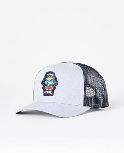 Rip Curl Men's Snapback Trucker Cap ~ Icons grey