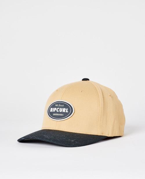 Rip Curl Men's Flexfit Cap ~ Boston khaki