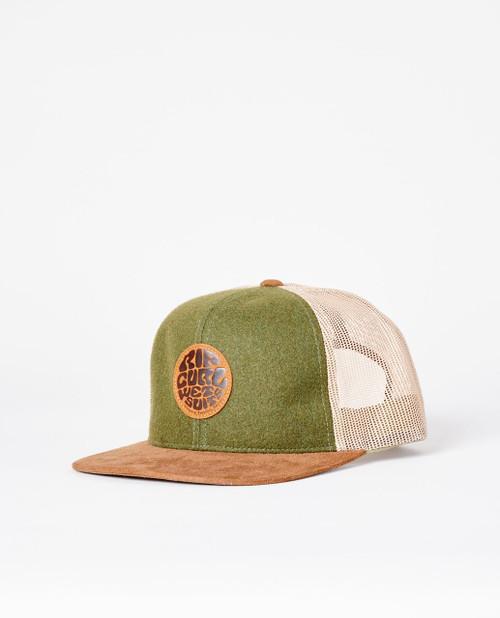 Rip Curl Men's Snapback Trucker Cap ~ Premium Wetty military