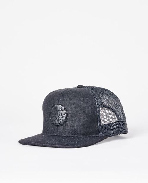 Rip Curl Men's Snapback Trucker Cap ~ Premium Wetty midnight