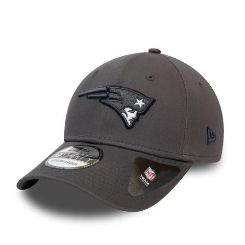 New Era Gray Pop 39Thirty Men's Cap ~ New England Patriots