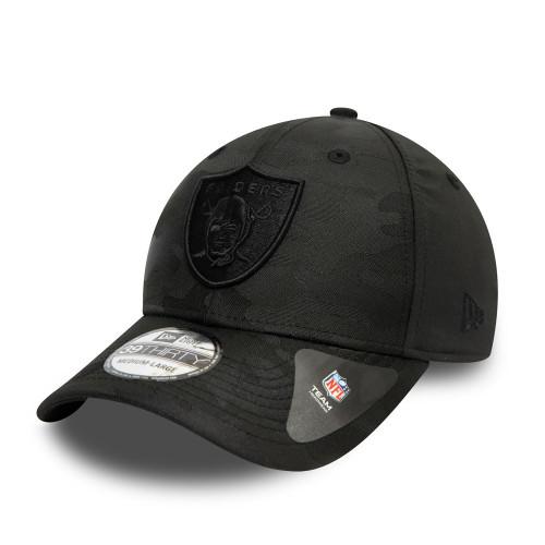 New Era Black Camo 39Thirty Men's Cap ~ LA Raiders