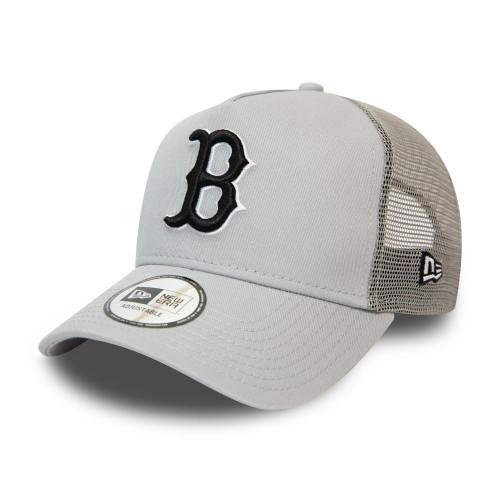 New Era League Essential Men's Trucker Snapback Cap ~ Boston Red Sox