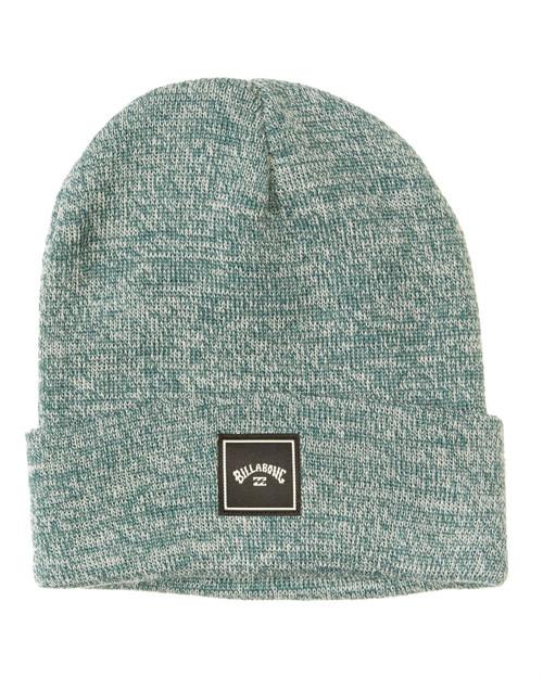 Billabong Men's Knit Cuff Beanie ~ Stacked deep sea