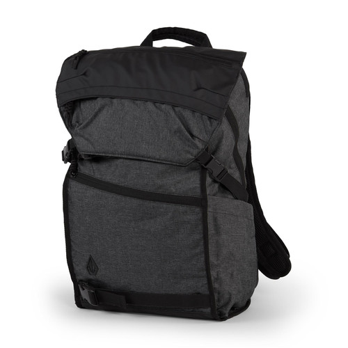 Volcom Men's Backpack ~ Substrate charcoal heather